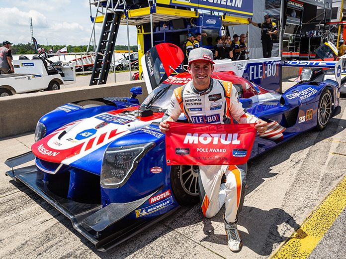 Colin Braun earned the pole for the Mobil 1 SportsCar Grand Prix presented by Acura for the second-straight season. (Sarah Weeks Photo)