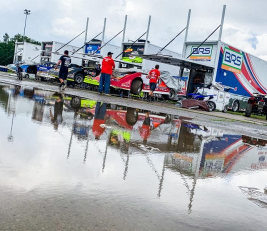 Rain has washed out Saturday's Freedom 50 at Mansfield Motor Speedway. (LOLMDS Photo)