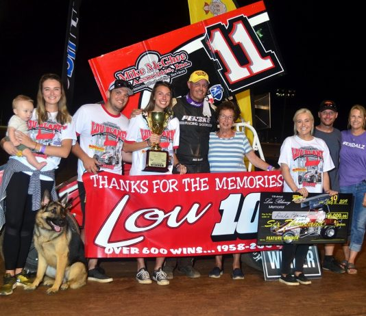 Lou Blaney Memorial Goes