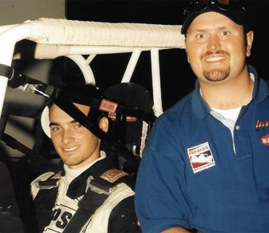 Jeff Dickerson (right) and Tyce Carlson. (Tyce Carlson Collection Photo)