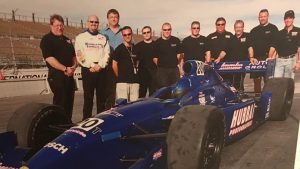 Jeff Dickerson worked with Tyce Carlson during his Indy Racing League career before becoming an agent and, eventually, a NASCAR car owner. (Tyce Carlson Collection Photo)