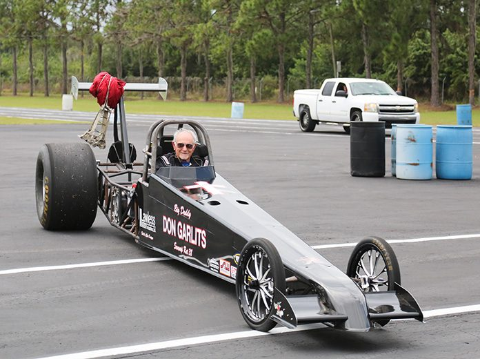 Don Garlits will attempt to set a world speed record on July 20 at Palm Beach Int'l Raceway.