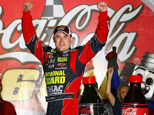 Casey Mears won the 2007 edition of the Coca-Cola 600 for his only Cup Series victory. (NASCAR Photo)