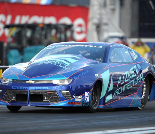 Shane Tucker has confirmed he'll sit out the NHRA's western swing. (NHRA Photo)