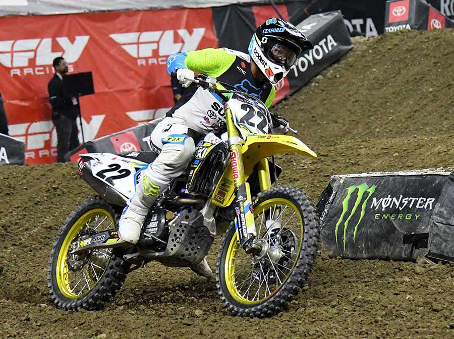 Chad Reed (Kent Steele Photo)