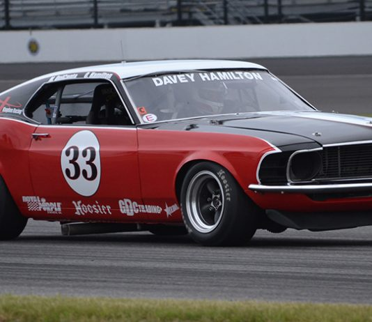 Davey Hamilton is among the latest group of drivers confirmed for the SVRA's Brickyard Invitational.
