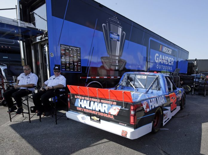 Friesen's Kentucky Truck Confiscated By NASCAR