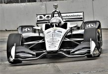 Simon Pagenaud was fastest in NTT IndyCar Series practice on Friday in Toronto. (Al Steinberg Photo)