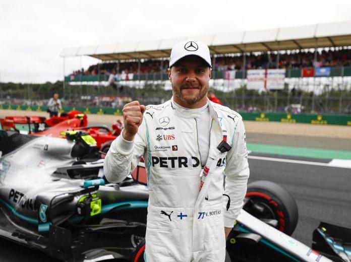 Bottas Nips Hamilton