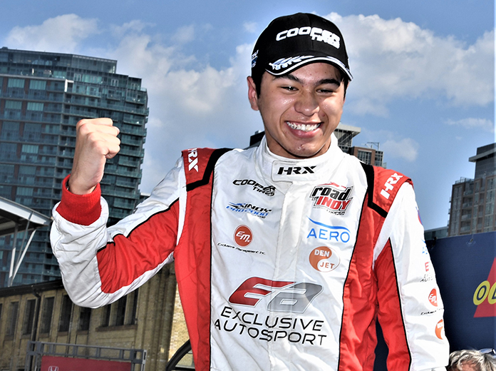 Frost Returns To Andretti Indy Lights Program