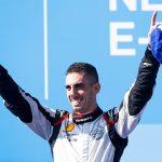 Sebastien Buemi won Saturday's New York E-Prix opener. (Formula E Photo)