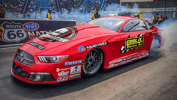 Steve Matusek will have sponsorship support from Thermo-Tec when he makes his NHRA Pro Stock debut.