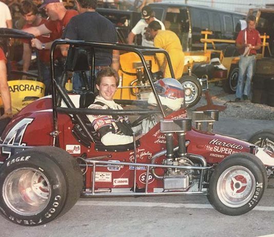Jarett Andretti's sprint car for Indiana Sprint Week will be an homage to the Rollie Helmling No. 4 Midget driven by his father, John Andretti.