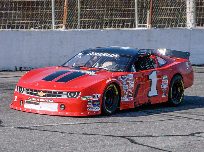 Coleman Pressley drove Don Satterfield's No. 1 in a one-off appearance at Hickory Motor Speedway in 2011. (Adam Fenwick Photo)