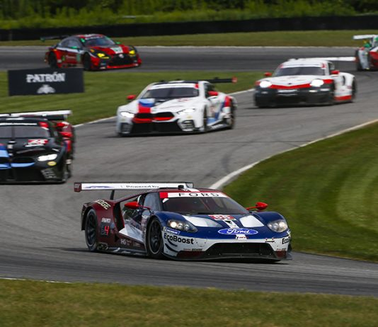 The cars of the GT Le Mans and GT Daytona classes will invade Lime Rock Park this weekend for the Northeast Grand Prix. (IMSA Photo)