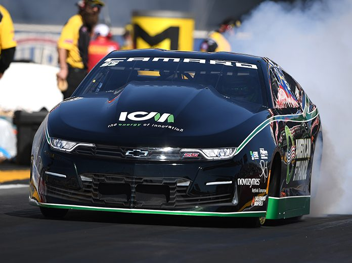 Deric Kramer is looking for a victory on his home turf during the Dodge Mile-High NHRA Nationals. (NHRA Photo)