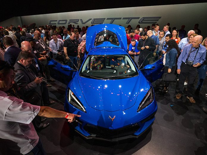 Chevrolet Reveals First Mid Engine Corvette Speed Sport