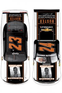 Junior Johnson's Midnight Moon will support GMS Racing at Bristol Motor Speedway in August.