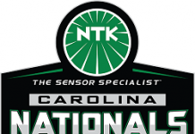 NHRA NTK Carolina Nationals Logo