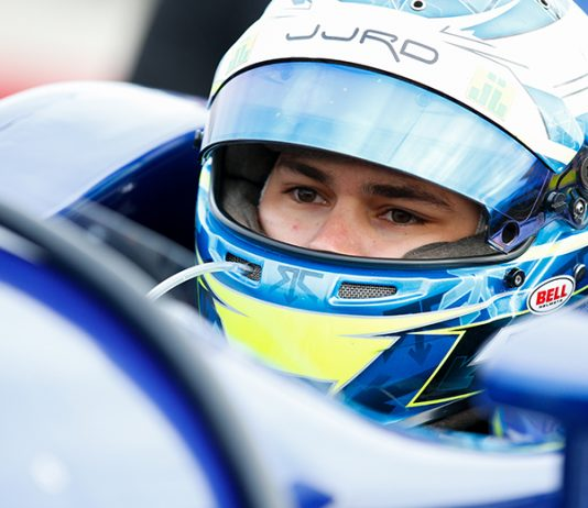 R.C. Enerson will drive for Carlin this weekend at the Mid-Ohio Sports Car Course. (IndyCar Photo)