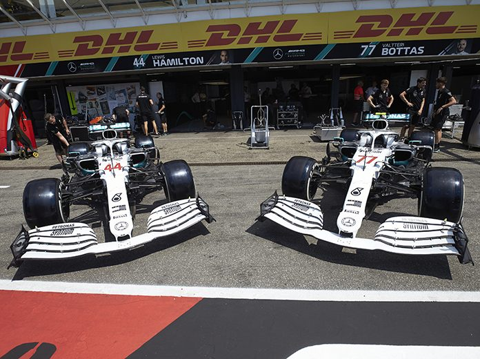 Mercedes will have a different look this weekend at the Hockenheimring. (Steve Etherington Photo)