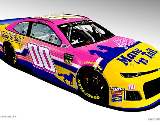 Mane 'n Tail will sponsor Landon Cassill and StarCom Racing this weekend at Pocono Raceway.