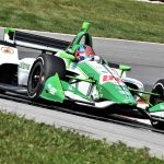 Colton Herta set the fastest lap in NTT IndyCar Series practice on Friday at the Mid-Ohio Sports Car Course. (Al Steinberg Photo)
