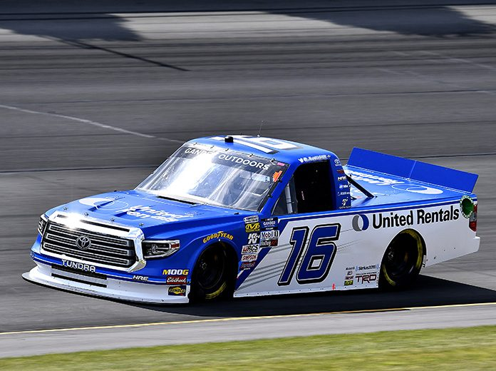 Austin Hill will start from the pole during Saturday's Gander RV 150 at Pocono Raceway. (Toyota Photo)