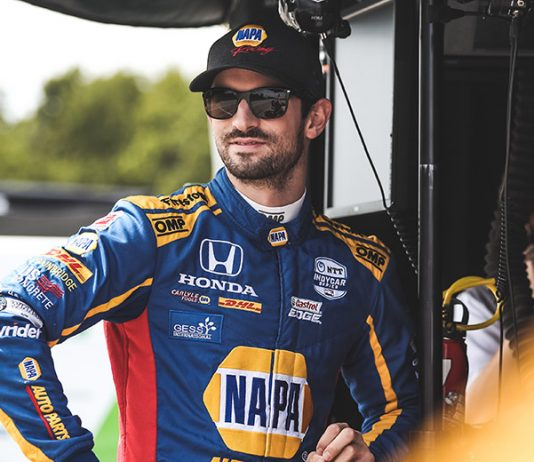 Alexander Rossi has renewed his contract with Andretti Autosport. (IndyCar Photo)