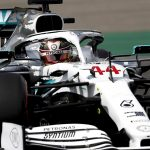 Lewis Hamilton has earned the pole for the German Grand Prix. (Mercedes Photo)