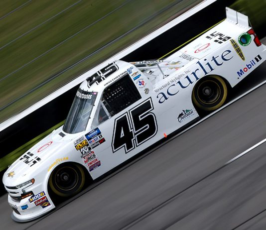 Ross Chastain dominated Saturday's NASCAR Gander Outdoors Truck Series event at Pocono Raceway. (NASCAR Photo)