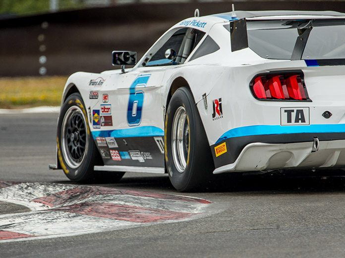 Greg Pickett earned the pole for Sunday's Trans-Am Series West Coast Championship event at Portland Int'l Raceway.