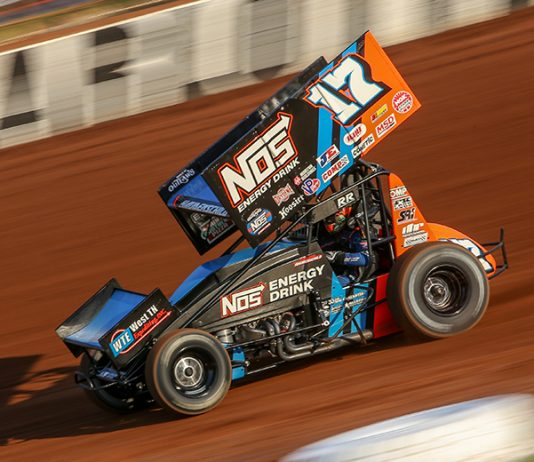 NOS Energy Drink has stepped up to increase the payout for the upcoming World of Outlaws event at the Stockton Dirt Track. (Adam Fenwick Photo)