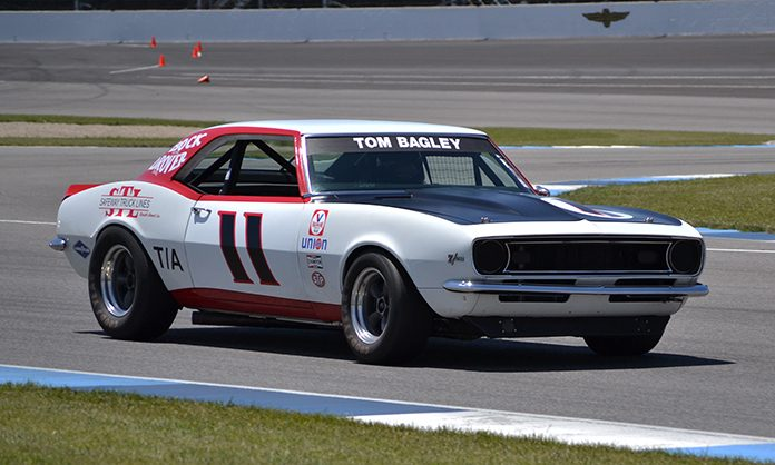 Tom Bagley has joined the field for the Vintage Race of Champions Charity Pro-Am at Indianapolis Motor Speedway.