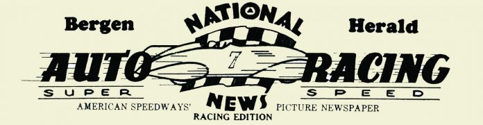 Bergen Herald National Auto Racing News Logo