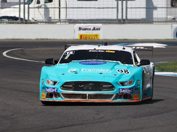Ernie Francis Jr. was fastest in Trans-Am Series qualifying Friday at Indianapolis Motor Speedway.