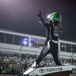Rico Abreu won Saturday's POWRi Midget feature at Federated Auto Parts Raceway at I-55. (Brad Plant photo)