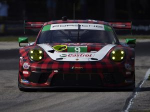 Pfaff Motorsports drivers Matt Campbell and Zacharie Robichon took top honors in the GT Daytona division. (IMSA Photo)