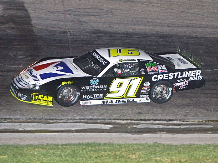 Ty Majeski has never won the Dixieland 250 and he is hoping to change that this week. (Stan Kalwasinski Photo)