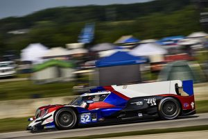 Patrick Kelly and Matthew McMurry co-drove the No. 52 to victory in the LMP2 class on Sunday at Road America. (IMSA Photo)