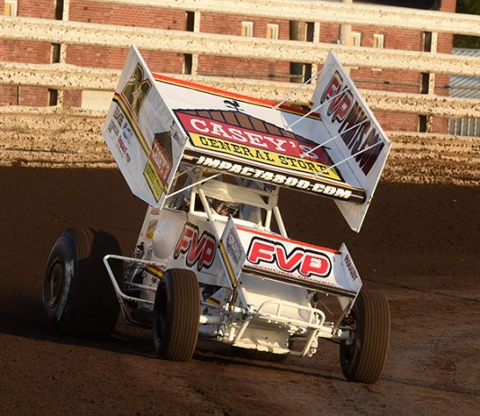 Brian Brown remains on top of the Mr. Sprint Car standings. (Paul Arch Photo)