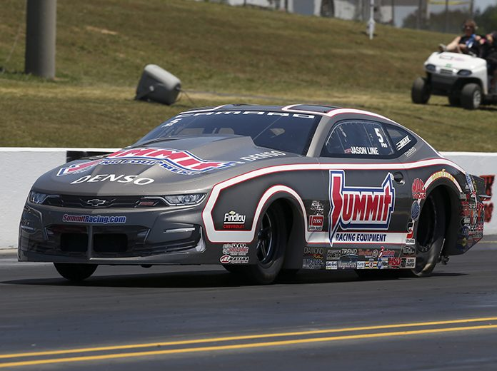 Jason Line is looking to change his luck at Brainerd Int'l Raceway. (NHRA Photo)