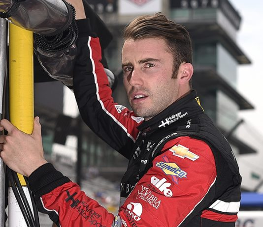 James Davison will make his USAC Silver Crown Champ Car Series debut this weekend at Salem Speedway. (IndyCar Photo)
