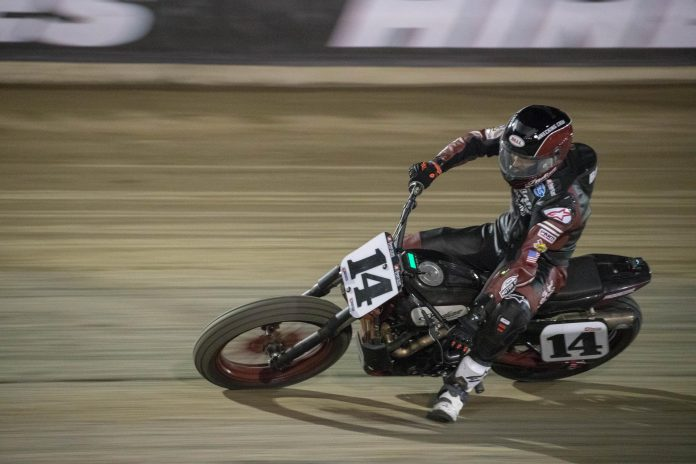 Briar Bauman (American Flat Track photo)