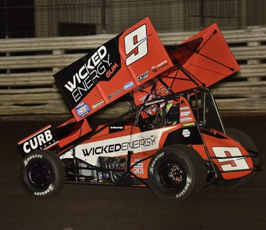 James McFadden has jumped back to the top of the Mr. Sprint Car standings. (Mark Funderburk Photo)