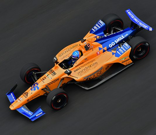 McLaren is returning to full-time Indy car competition in 2020 via a partnership with Arrow Schmidt Peterson. (IndyCar Photo)