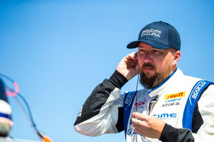 Mike Hedlund will drive for RealTime Racing for the remainder of the season.