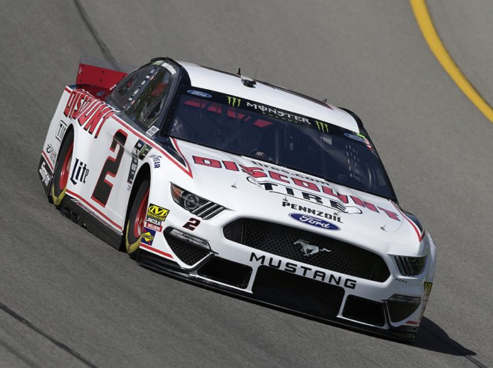 Brad Keselowski will start from the pole on Sunday at Michigan Int'l Speedway. (HHP/Garry Eller Photo)