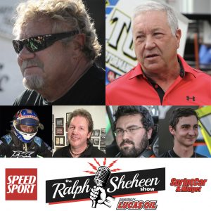 Steve Kinser and Sammy Swindell will headline a live taping of The Ralph Sheheen Show presented by Lucas Oil Saturday at Knoxville Raceway.