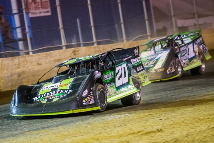 Jimmy Owens (20) has earned the pole for the North/South 100. (Heath Lawson Photo)